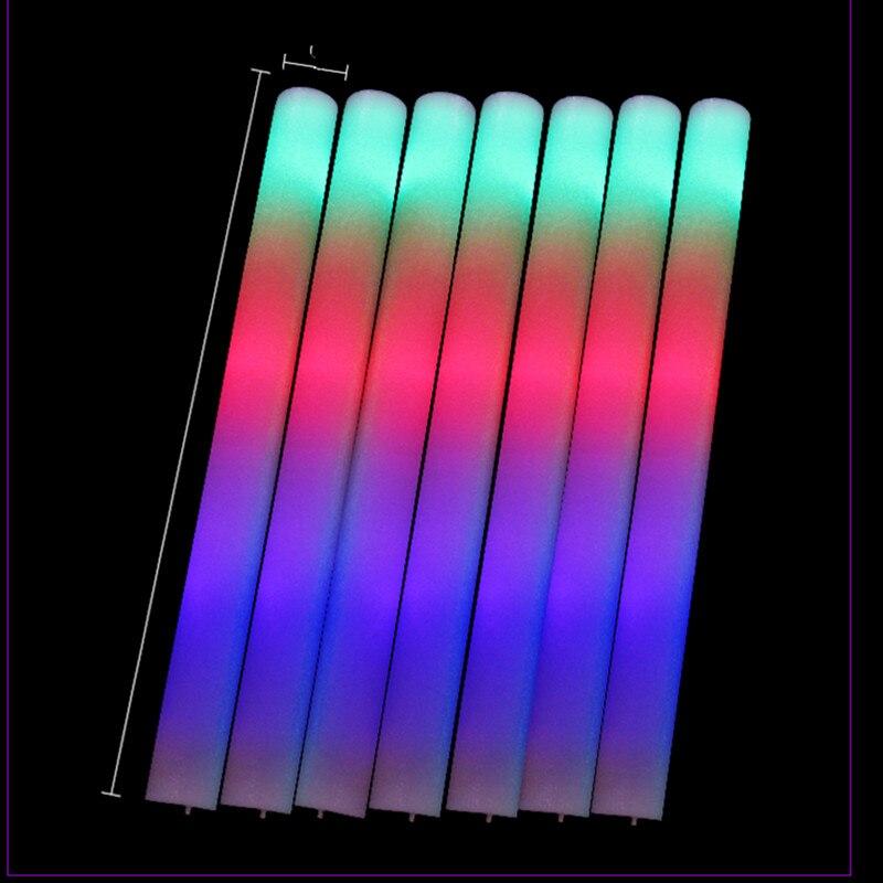 ٩(^‿^)۶3 Modo MultiColor palillo de la espuma que destella colorido ...