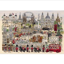 Construction Jigsaw Paper Puzzle 1000 Pieces Christmas Poetic London Jigsaw Puzzles 1000 Pieces For Adults Girls About Grownups