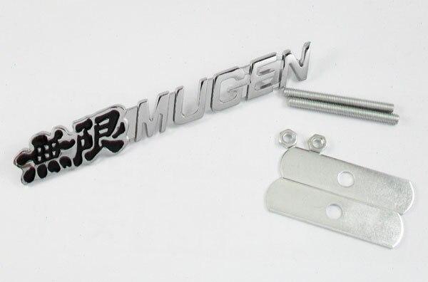 Авто металл черный Mugen для VTEC с Тип R Цивик передняя решетка Гриль знак герба МК6 А3 А4 А1, А5, А8, С4 стикер эмблемы значка ТТ