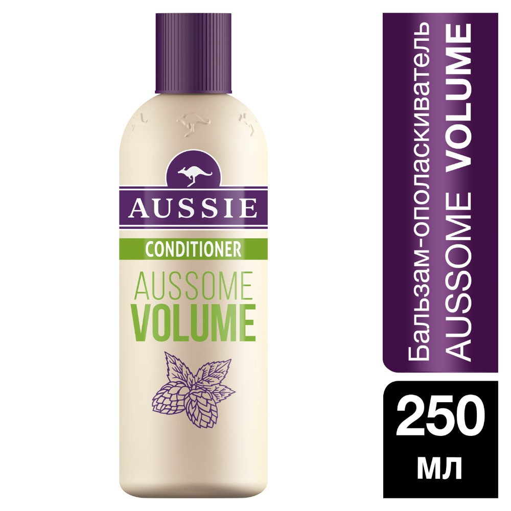 AUSSIE Aussome Volume balm conditioner for fine hair 250ml mentholatum 250ml