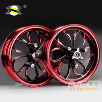 For Yamaha NMAX155 NMAX 155 NMAX125 Motorcycle Wheel Rims Front Rear Wheel Rim Set Aluminum Alloy Red