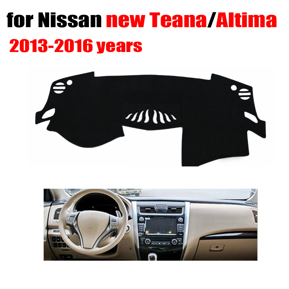Car dashboard cover mat for Nissan New TEANA Altima 2013 to 2016 Left hand drive dashmat pad dash covers dashboard accessories car dashboard cover mat for nissan new teana altima 2009 2012 right hand drive dashmat pad dash covers dashboard accessories page 6