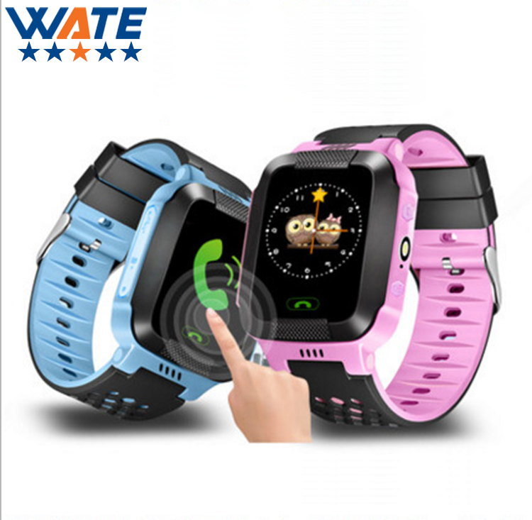 ФОТО Hot NEW Wrist Smart Watch Children Students Locator Tracker Anti-Lost Smartwatch For Iphone Android IOS With Lighting