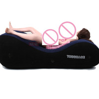 toughage PF3207 Inflatable sofa bed US warehouse shipments sex toys for couples love sex chair pillow adult sex furniture