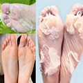 Foot Mask Foot Care Peeling Exfoliating Lavender Extract Remove Dead Skin Ginger Whitening Beauty Feet Care Product 1lot=2pairs