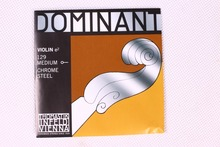 Бесплатная доставка Thomastik доминирующие 135B Средний скрипки строки 4/4 полный набор G D E Строки
