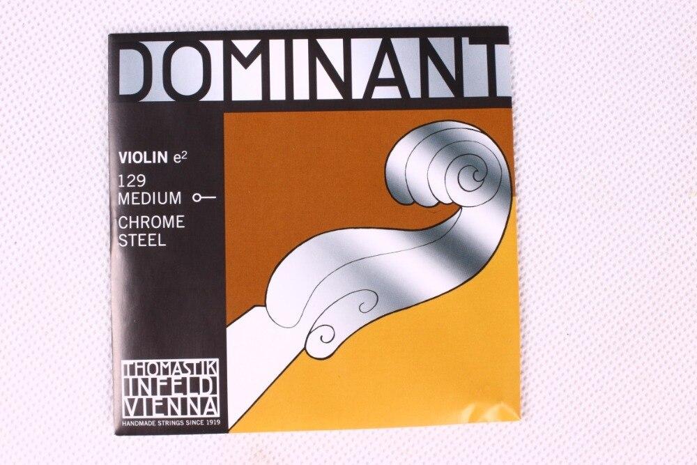 Trasporto Libero Thomastik Dominante 135B Medio Corde di Violino 4/4 Strings Set Completo G D A E Corde