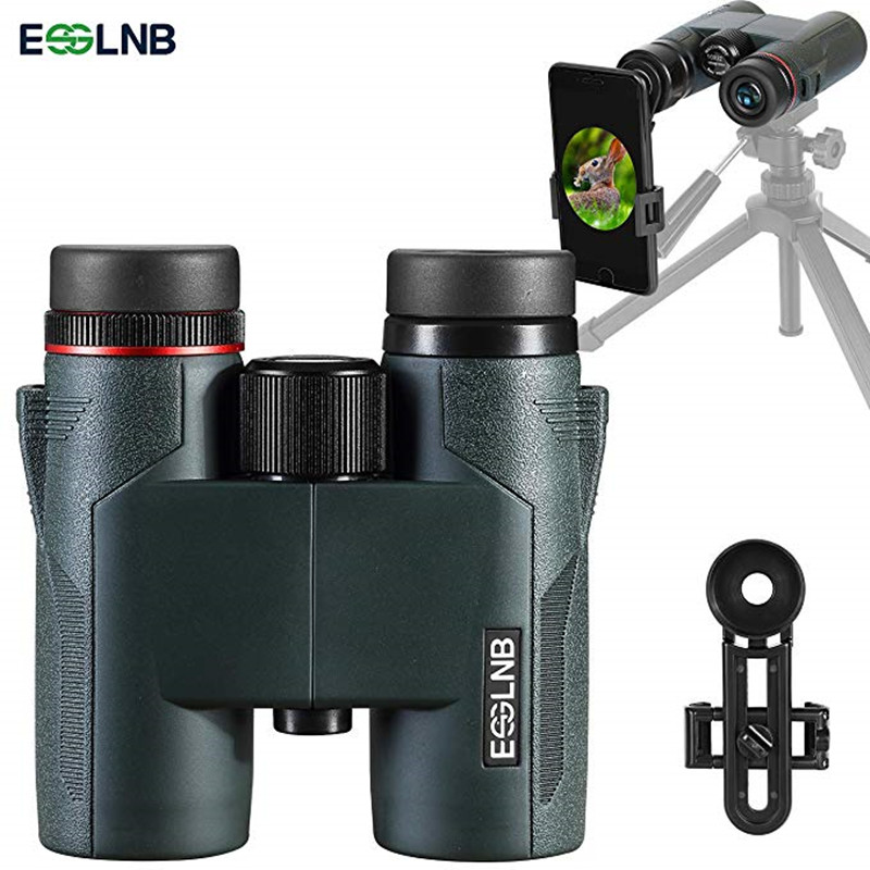 Military HD 8X32 Binoculars Professional Hunting Telescope Zoom High Quality Vision No Infrared Eyepiece Army Green