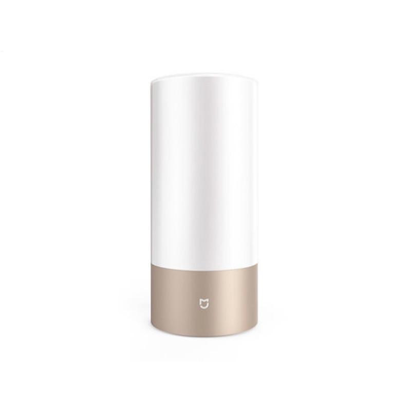 Xiaomi Mijia lampe de Bureau Intelligent LED 2 De Chevet Table Cylindre Tactile Dimmable Wifi et Bluetooth Double Télécommande Couleur RGB