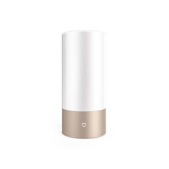 Xiaomi Yeelight настольная лампа Smart светодиодный 2 прикроватные Таблица Цилиндр сенсорный затемнения Wi-Fi и Bluetooth двойной удаленного Управление Цвет RGB