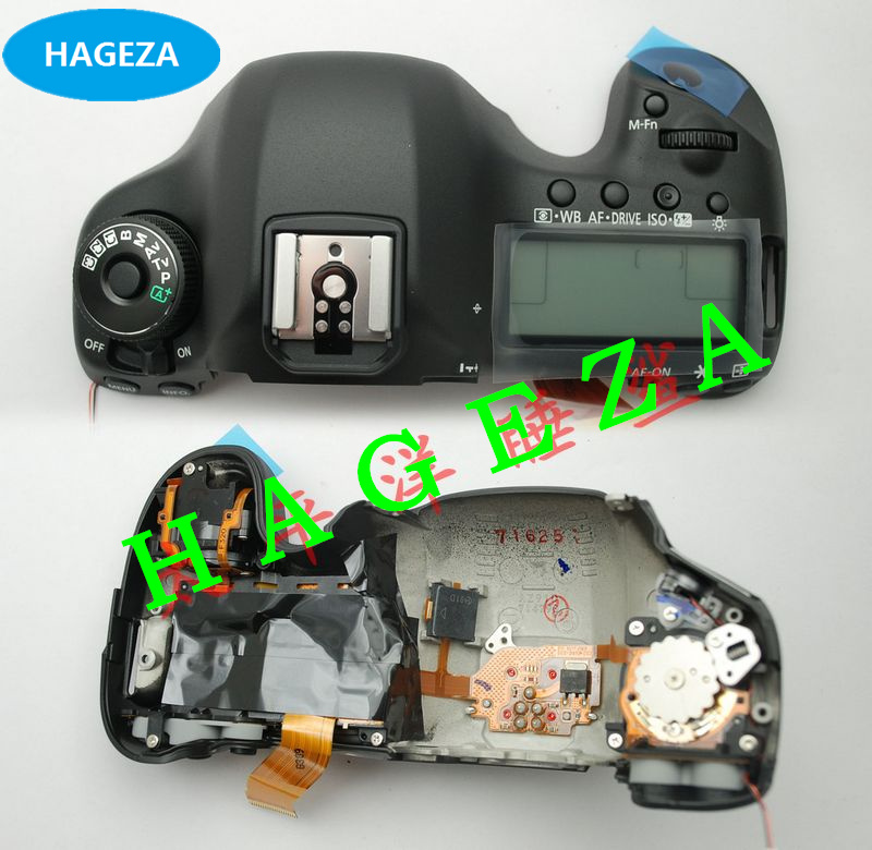 100%New Original LCD Top cover / head Flash cover for Canon EOS 5DIII 5D Mark III / 5D3 Digital Camera Repair Part new original 5d iii lcd top cover head flash cover for canon 5diii top 5d mark iii open unit 5d3 cg2 3197 020 digital camera