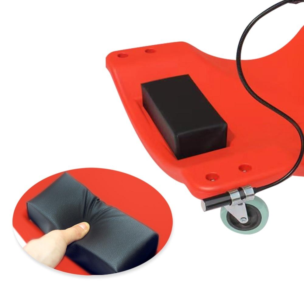 40 дюймов ремонт автомобиля лежа доска с светодиодный светильник скейтборд Спящая доска автомобиль Сервис инструмент обслуживания