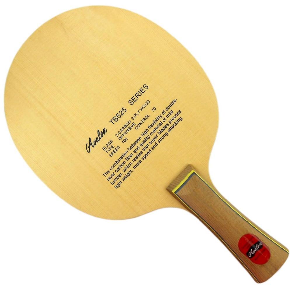 Avalox TB525 (TB-525, TB 525) Shakehand Table Tennis (Ping Pong) Blade avalox tb525 tb 525 tb 525 shakehand table tennis pingpong blade