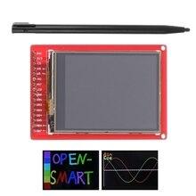 """2.2 """"TFT LCD dokunmatik ekran kesme panosu modülü w/dokunmatik kalem Arduino için"""