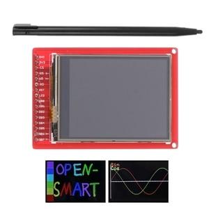 """Image 1 - 2.2 """"TFT LCD شاشة تعمل باللمس لوحة القطع وحدة ث/قلم اللمس لاردوينو"""