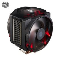 Cooler Master MAKER8 TDP250W Процессор охладитель 8 Медь тепловыми двойной 14 см вентилятор Процессор охлаждения светодио дный высокого класса игры куле