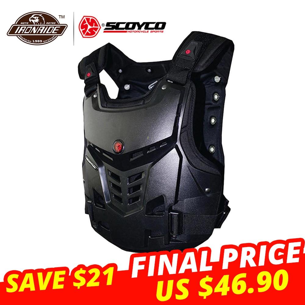 Onpartijdig Scoyco Motorjas Motocross Armor Vest Jas Motorfiets Armor Beschermende Kleding Motorbike Racing Rijden Jas