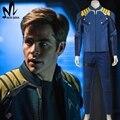 Star Trek Beyond Captain Kirk cosplay costume Star Trek uniform Chekov Kirk costume suit badge Halloween costumes for adult men