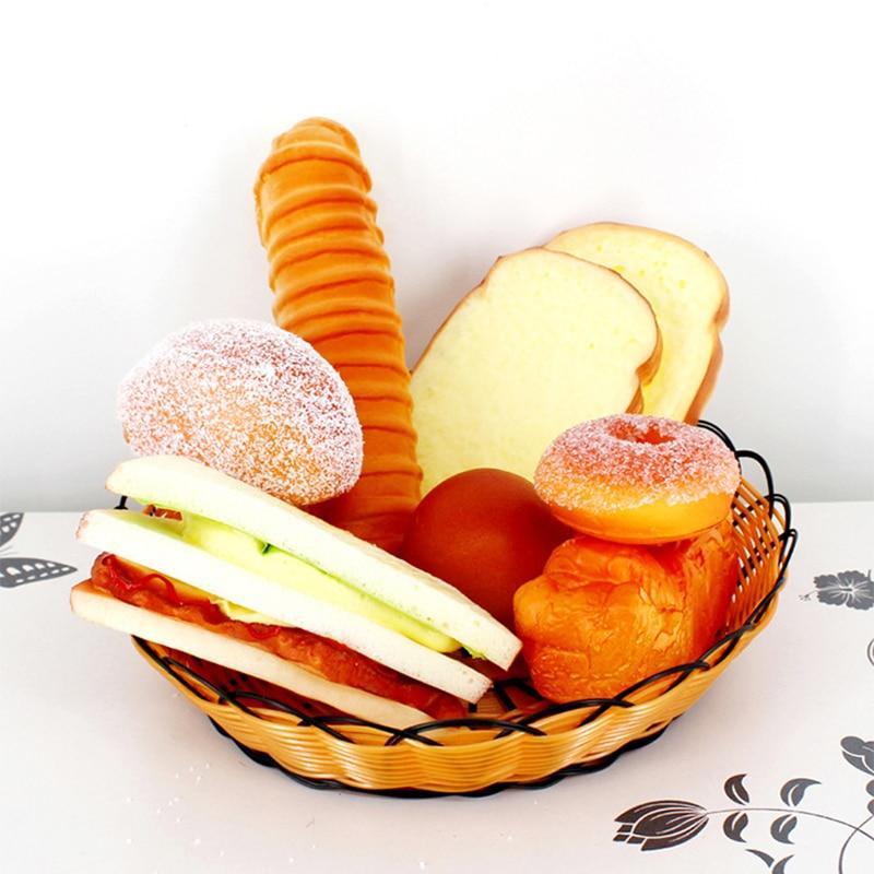 10 pcs Mixte miniature maison de poupées Beignets Mignon réaliste kawaii Mini Food