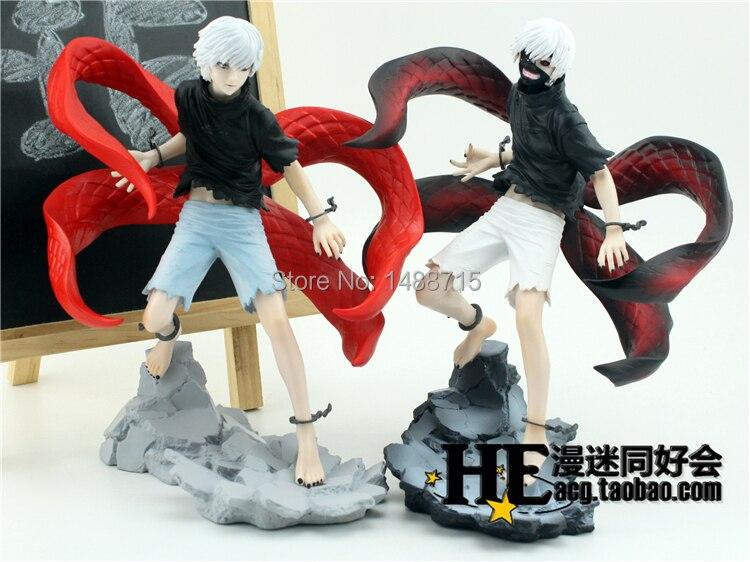 ФОТО New Arrival Japan Comic Anime Tokyo Ghoul Ken Kaneki Ghoul Kakugan shining eye Battle State 21CM Action Figure Toys