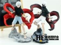 New Arrival Japan Comic Anime Tokyo Ghoul Ken Kaneki Ghoul Kakugan shining eye Battle State 21CM Action Figure Toys