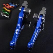 FREAXLL Motocross Dirt Bike Motorcycle Pivot Brake Clutch Levers Handle Bar Grips CNC for Suzuki RM85 RM-85 RM 85 2005-2015