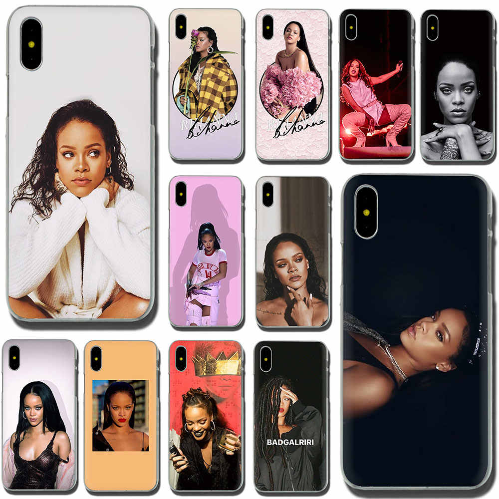Rihanna Hard telefoon cover case voor iPhone 11 Pro 5 5S 6 6S Plus 7 8 Plus X XS XR XS Max