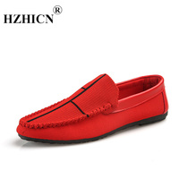Men's Korean version of the trend of wild personality lazy one pedal wear resistant shock absorption casual peas shoes