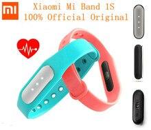 Original xiaomi mi banda 1 s pulseira heart rate monitor para ios inteligente android ip67(China (Mainland))