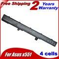 14.8 V 2600 MAH bateria A41N1308 A31N1319 0B110-00250100 para Asus X451 X551 X451C X451CA X551C X551CA Series