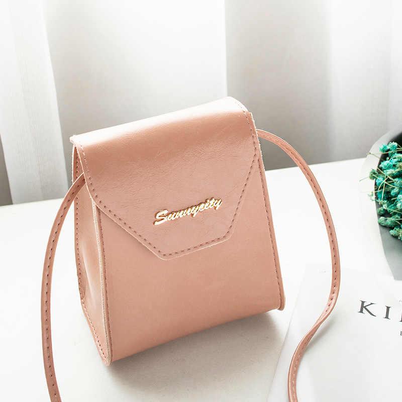 Сумки через плечо для женщин 2019 Новый корейский стиль мини розовая сумка