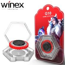 Winex круглый игровой джойстик мобильный телефон геймпад рокер для Iphone Android планшет металлическая кнопка игровой контроллер для PUBG Fortnite