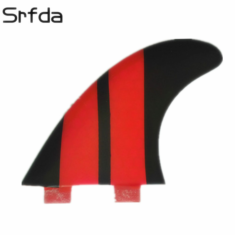 Fiberglass Hongey Bomb Size M Meticulous Dyeing Processes three-set Honesty Srfda New Hot Sell High Quality Fcs Fins G5 Surf Fins For Surfboard Fin