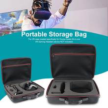 FOR Oculus Quest Case Oculus Quest All-in-one VR Gaming Headset Storage Box Travel Case(China)