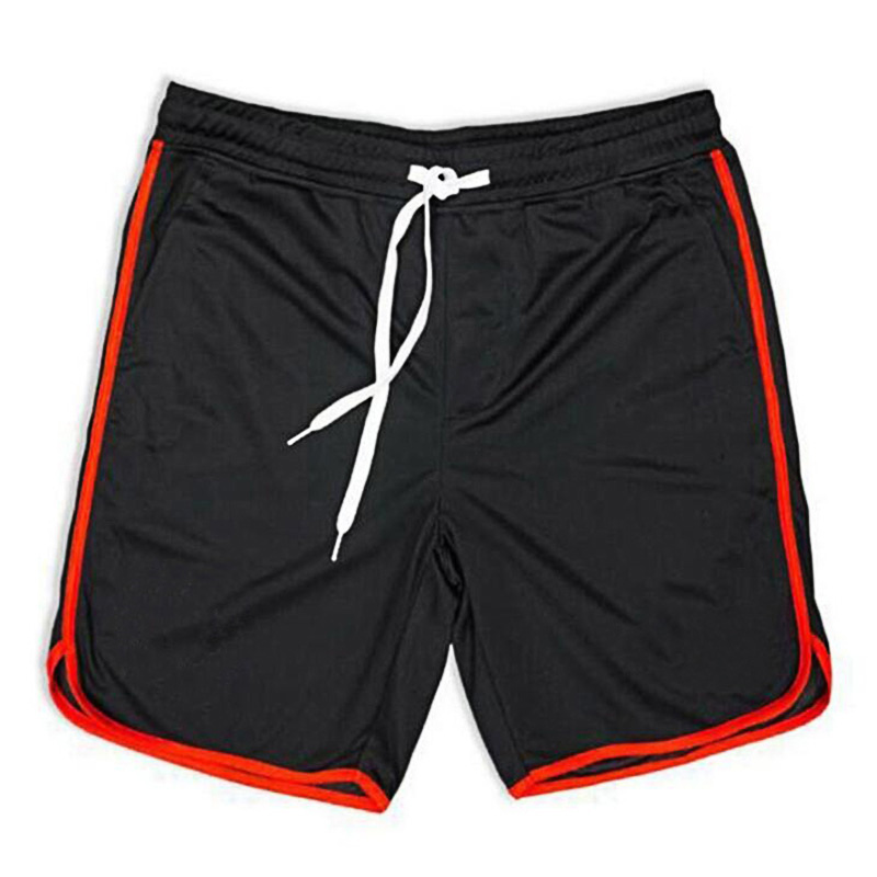 Men's Clothing Summer Running Shorts Men Jogging Beach Loose Shorts Stripe Mens Gym Men Shorts Crossfit Sport Gyms Short Pants Men