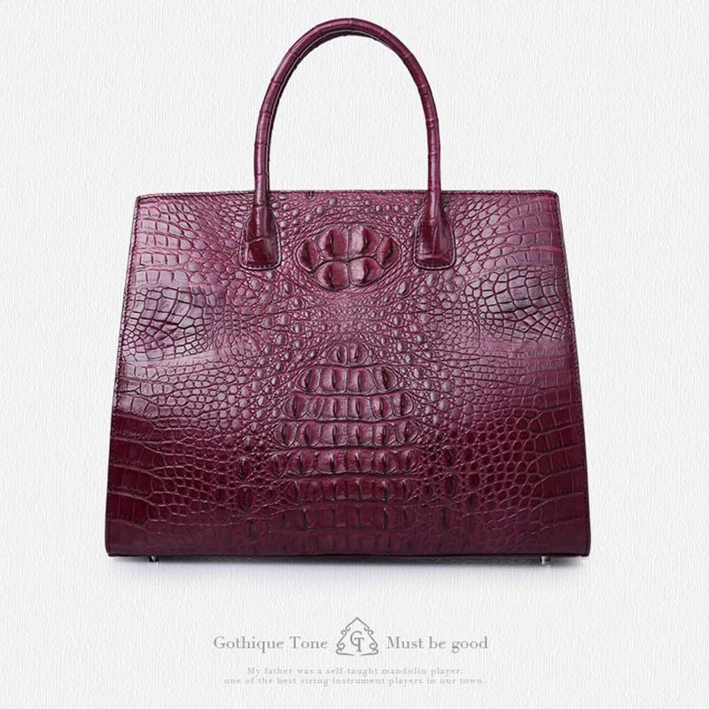 где купить gete New crocodile handbag fashion luxury European and American leather handbag bag socialite high-capacity female bag по лучшей цене