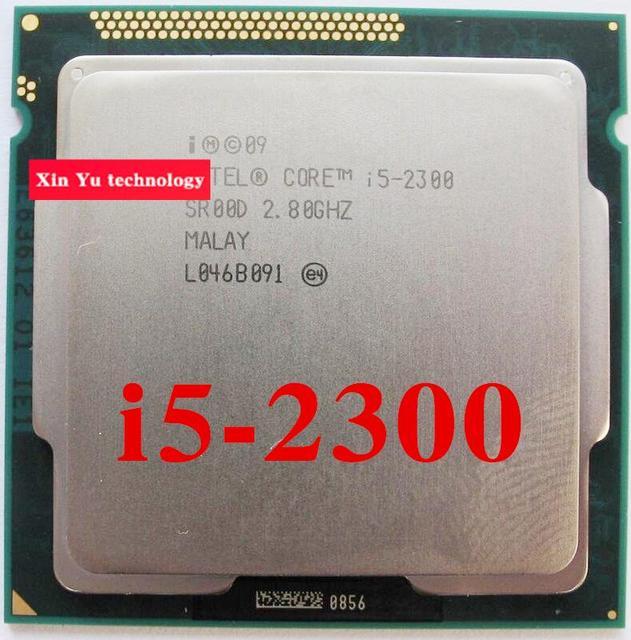 Core i5 2300 2.8GHz 6M SL00D Quad Core Four threads desktop processors Computer CPU Socket LGA 1155 pin