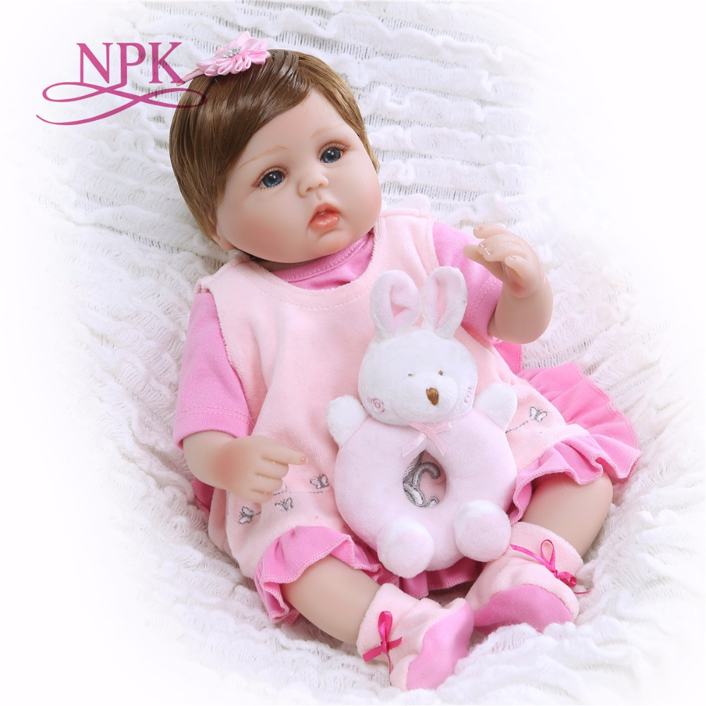 Bebe doll doll 1840cm handmade silicone reborn baby dolls toys for children gift real cute newborn babies dollBebe doll doll 1840cm handmade silicone reborn baby dolls toys for children gift real cute newborn babies doll