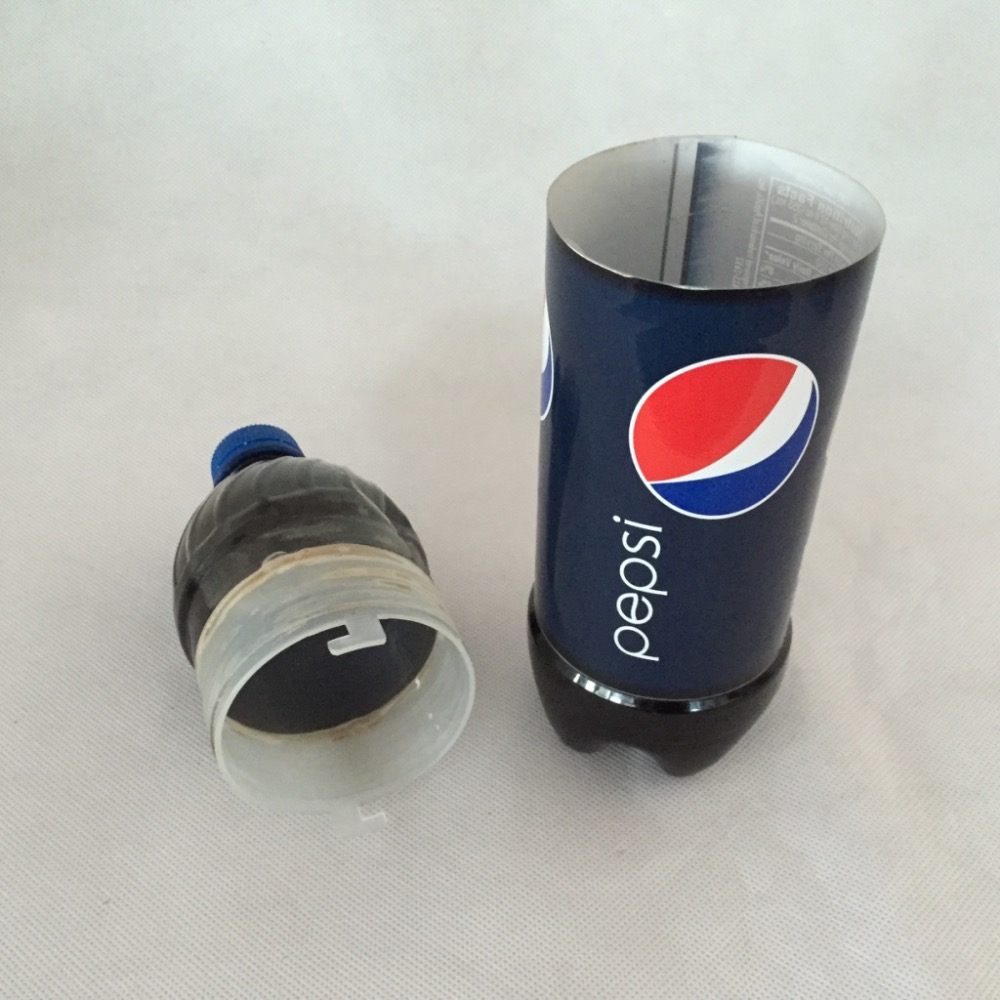 (Одна часть/серия) шкатулка-Сейф Pepsi бутылку воды утечки Сейф (DIY пустая бутылка)
