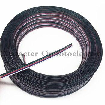 10 mt/los, verzinnt kupferkabel, 22AWG 5 pin RGB kabel, pvc ...