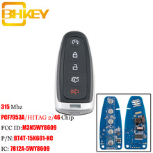 BHKEY clé télécommande intelligente, 315Mhz, sans clé, pour voiture Ford M3N5WY8609, pour Ford Edge Escape Explore, expédition, Flex Focus, Taurus