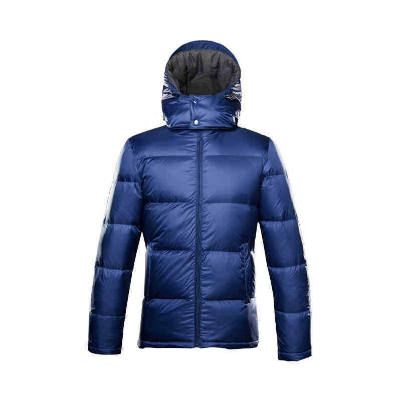 2015 New Hot Winter Warm Men Down jacket Coat Parkas Outerwear Slim Plus Size 2XXL Mid Long Hooded Short Fashion Leisure Sport