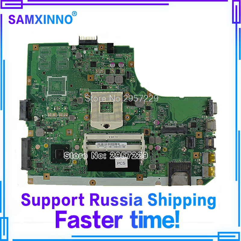 New! R500A A55A K55A Motherboard for Asus K55VD REV3.0 MainboardHD Graphics 4000 PGA 989 100% Work S-6 k55a motherboard rev 3 0 3 1 hm76 chipset for asus k55vd k55a laptop motherboard k55a mainboard k55a motherboard test 100