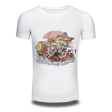 DY 105 Fashion Cartoon Design Men s Printing Fashion T Shirt White Tops Hip Hop Newest
