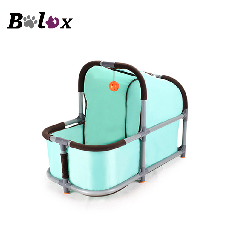 Bolux Portable Pet Bed Oxford Fabric Crib Kennel Comfortable For Small Dog Cat Small Kitten Animals Home Durable Product