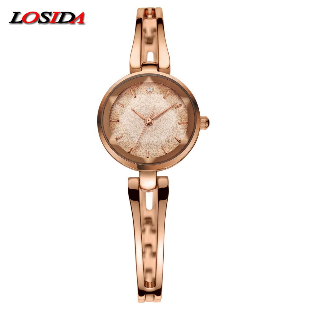 2018 New Brand Losida Fashion 18k Gold-plated Women Watches Waterproof Ladies Quartz Watch Women Wristwatches relogio masculino все цены