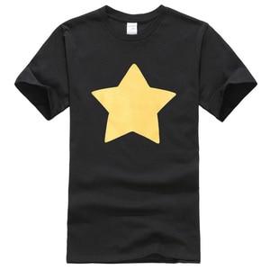 2019 summer short sleeve T-shirt printed STEVEN UNIVERSE STAR pattern fashion cool hip hop streetwear men's T-shirts harajuku(China)