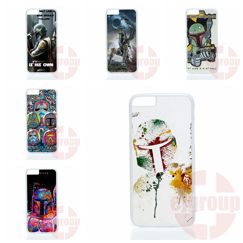 Star Wars 7 Boba Fett For Samsung Galaxy Note 2 3 4 5 edge lite A3 A5 A7 A8 A9 E5 E7 2016 Free Shipping