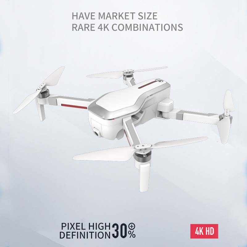 Image 5 - Folding Drone 4K HD camera Gesture photography  Long endurance Mini UAV One key return-in RC Helicopters from Toys & Hobbies