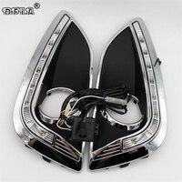 LED Car Light For Hyundai IX35 Ix 35 2010 2011 2012 2013 Car Styling LED DRL